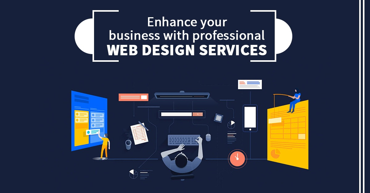 Enhance Your Business With Professional Web Design Services